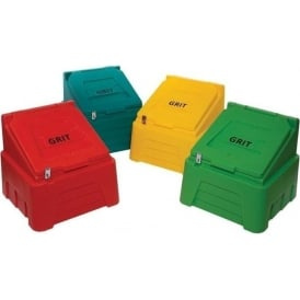 Coloured Grit Bins with Lock - 200lt & 400lt