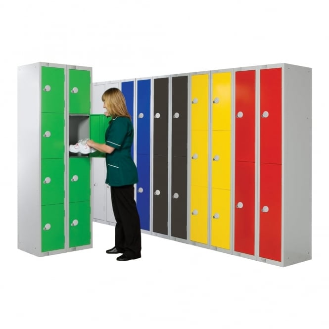 Coloured Lockers - 450 x 450 mm