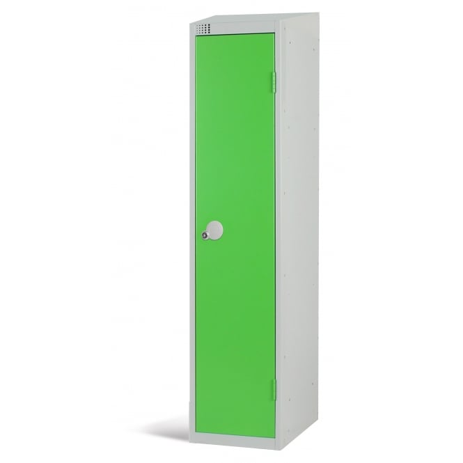 Coloured Lockers with Sloping Top - 450 x 450mm