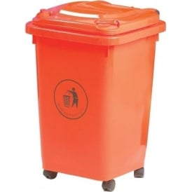 Coloured Mini Wheelie Bin Cap: 50lt