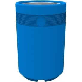 Coloured Open Top Litter Bin Cap: 85lt