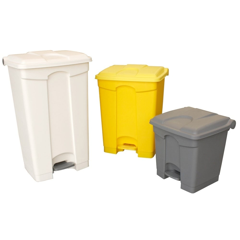 Coloured Plastic Pedal Bins Cap: 30lt, 45lt, 70lt U0026amp; ...