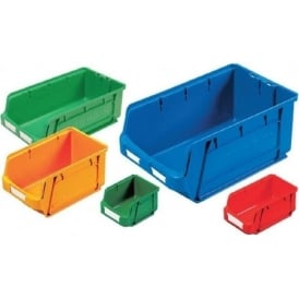 Coloured Plastic Small Parts Picking Storage Containers