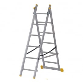 Combination 3 Way Ladders ExtensionPLUS - Heavy Duty EN131 - Double