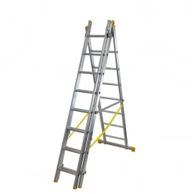 Combination Ladders 4 Way ExtensionPLUS - Heavy Duty EN131 - Triple