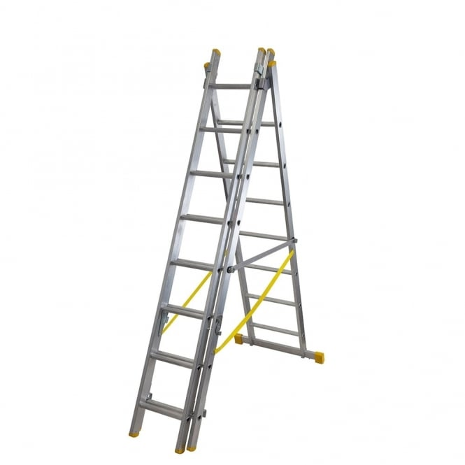 Combination Ladders ExtensionPLUS - Heavy Duty EN131 - Triple
