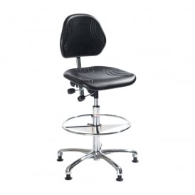 Comfort High-rise Draughtsman/Counter Polyurethane Chairs