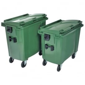 Commercial Wheelie Bins Cap: 660lt & 770lt