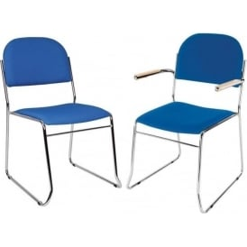 Conference Chairs with chrome frame