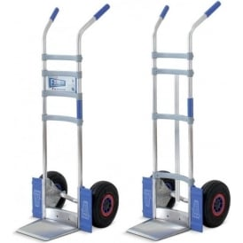 Contract Aluminium Sack Truck with or without centre strut Cap: 200kg