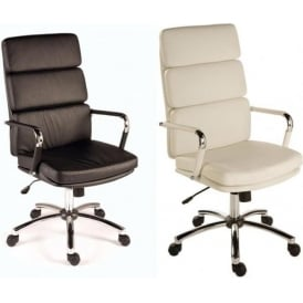 Deco Faux Leather Executive Chairs