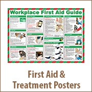 First Aid & Treatment Posters