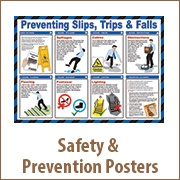 Safety & Prevention Posters