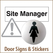 Door Signs & Stickers