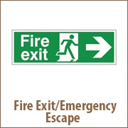 Fire Exit/Emergency Escape