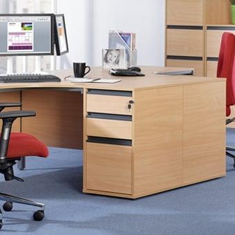 Office desks with storage Space Saving Maestro 18 Office Furniture Drveniadvokat Office Desks Storage Solutions Office Furniture Parrs