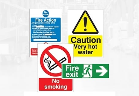 Safety Signs & Notices