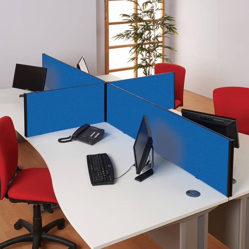 Desktop Acoustic Office Screen   Rectangular