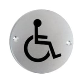 Disabled WC Toilet Door Signs