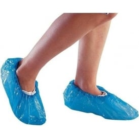 Disposable Blue Overshoes Pk 50