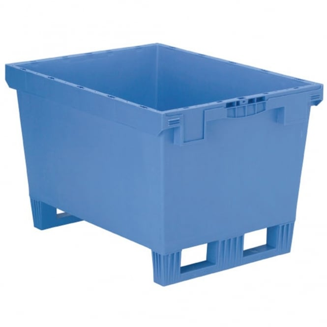 Distribution Containers with Fork Entry Shoes