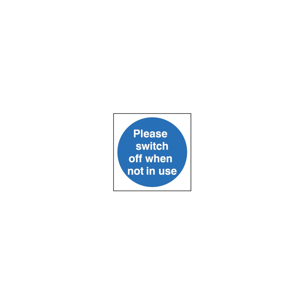 door sign please switch off when not in use fire door signs from