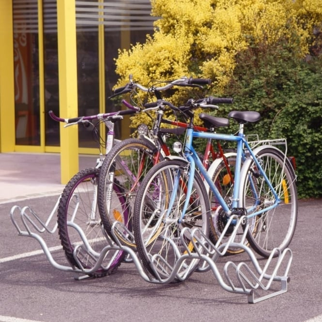 Double Level Bike Rack