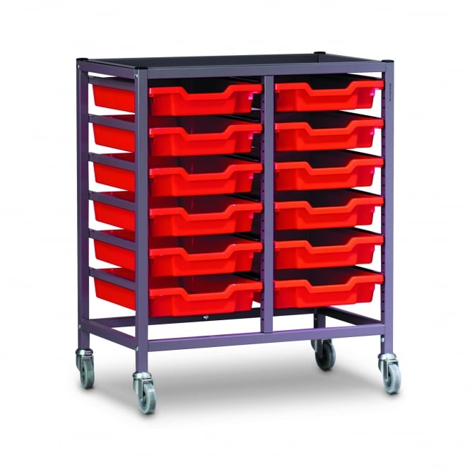 Double Tray Trolleys