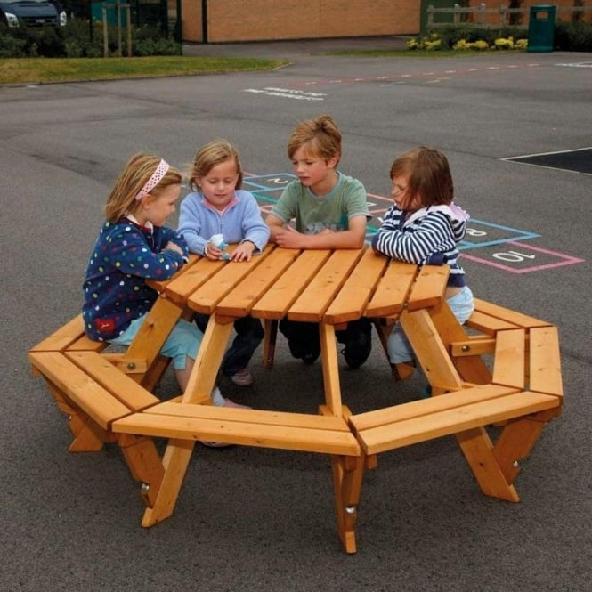 Early Years Timber Outdoor Furniture