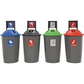 Eco-Bank Recycling Bins Cap: 75lt