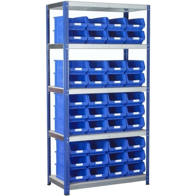 Ecorax Shelving with TOPSTORE Containers