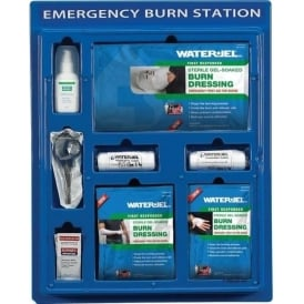 Emergency Burns Station with Water-Jel