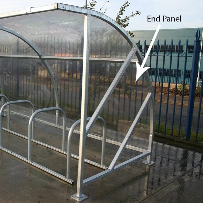End Panel for Bike Shelter