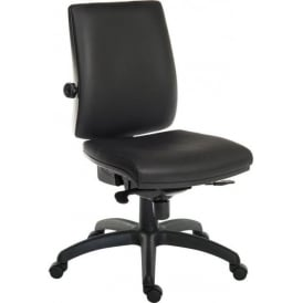 Ergoplus Faux Leather Executive Operator Chair