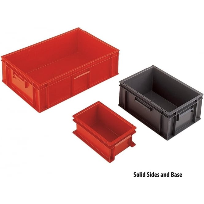 Euro Containers with solid or ventilated sides
