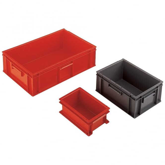 Euro Containers with solid sides & base