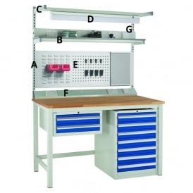 Euroslide Workbench Accessories