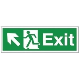 Exit - Arrow Up Left Signs