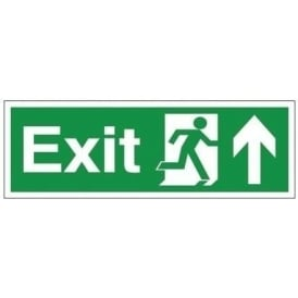Exit - Arrow Up Signs