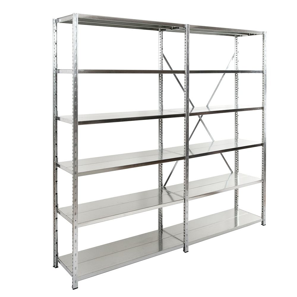Expo 3 Galvanised Boltless Shelving From Parrs Workplace