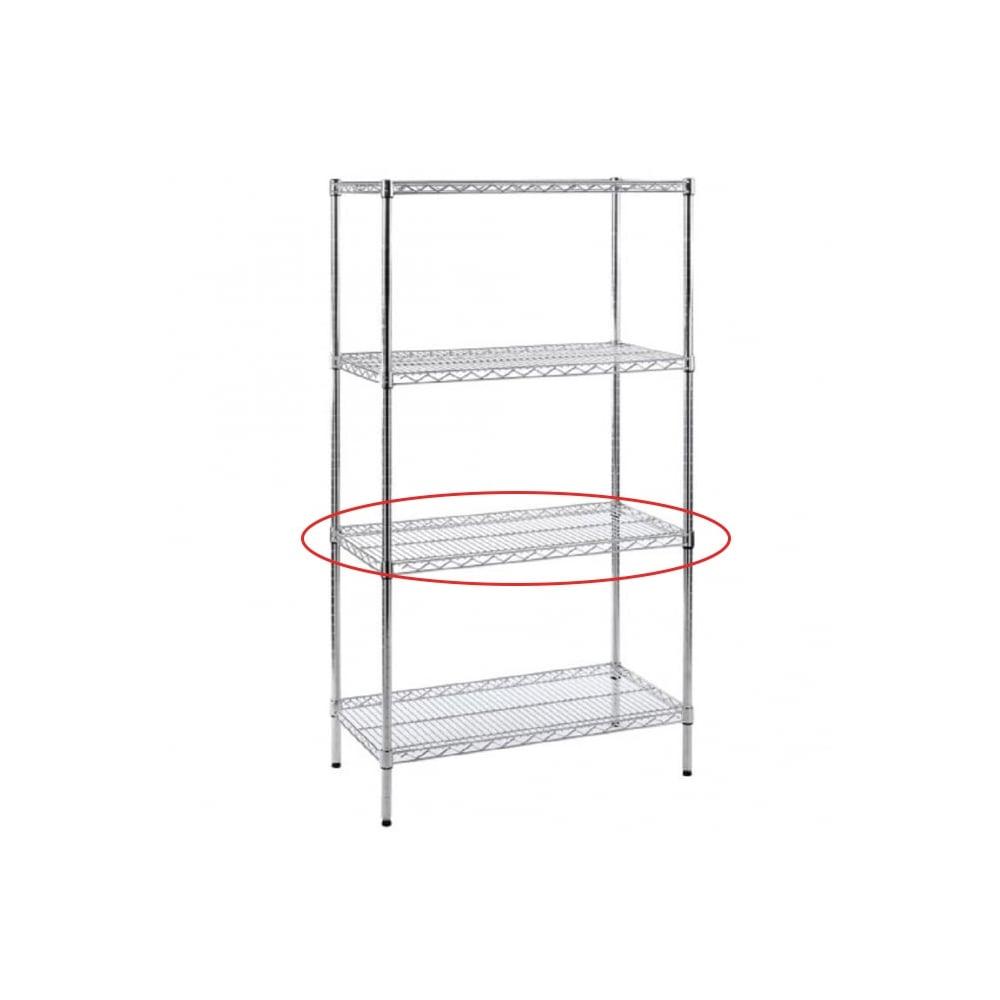 extra shelf for chrome wire shelving - Chrome Wire Shelving