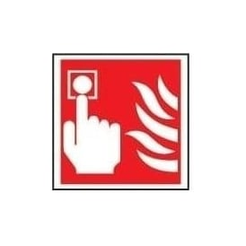 Fire Fighting Signs Press Alarm