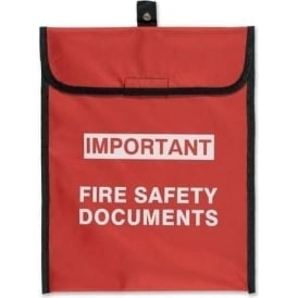 Fire Safety Document Pouch