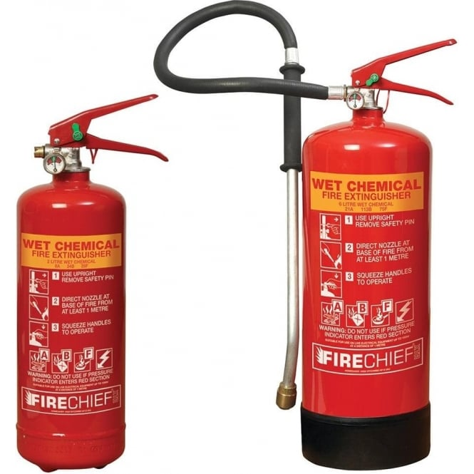 2lt-6lt Wet Chemical Fire Extinguishers