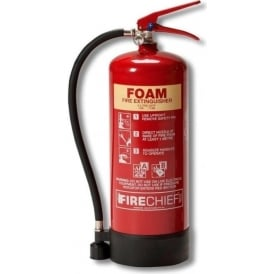 Firechief Foam Fire Extinguisher - 6lt