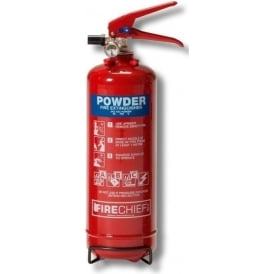 Firechief Powder Fire Extinguisher - 2kg