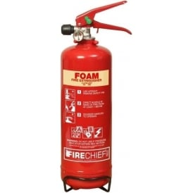 Firechief Spray Foam Fire Extinguisher - 2lt