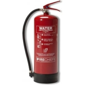Firechief Water Fire Extinguisher - 9lt