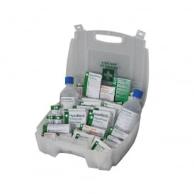 First Aid & Eye Wash Kit: 1-10 persons