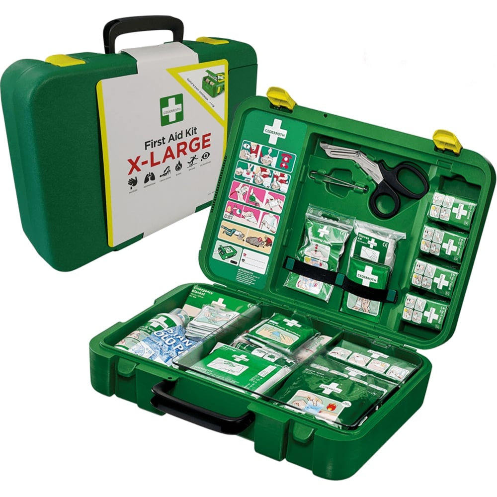 81de6e62cfa Cederoth First Aid Kit - Extra Large - 21-50 persons
